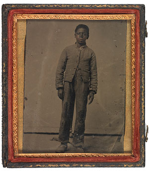 Young African American in Confederate Uniform, c. 1861–65