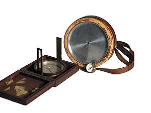 Jedediah Hotchkiss's Compass, c. 1850–62