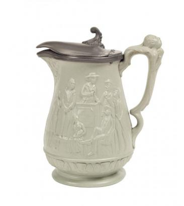 Image of Abolitionist Pitcher by Ridgeway & Abington