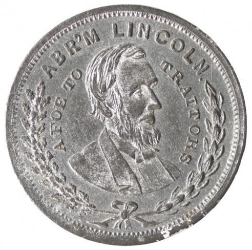 An Abraham Lincoln prowar medalet