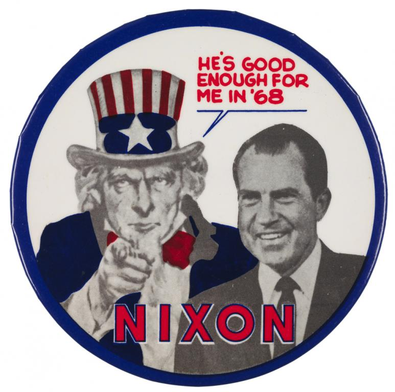 Image result for richard nixon elected president in 1968