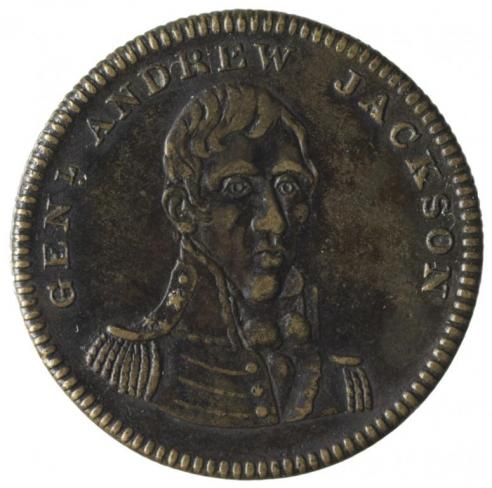 Andrew Jackson campaign tokens