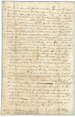 John Chilton letter, page two