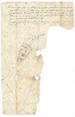 John Chilton letter, page three