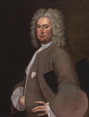 Isham Randolph (1685–1742) by unidentified artist, c. 1724