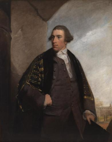 Ralph Wormeley V, 1763, by Robert Edge Pine
