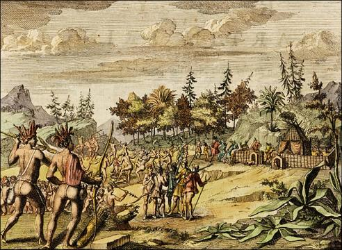Martin Pringe in north Virginia, 1603