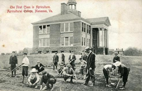 First Class in Agriculture, Agricultural College, Manassas