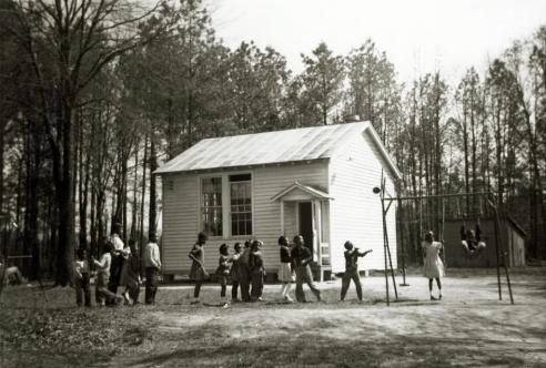 Gumtree School, Hanover County, c. 1955