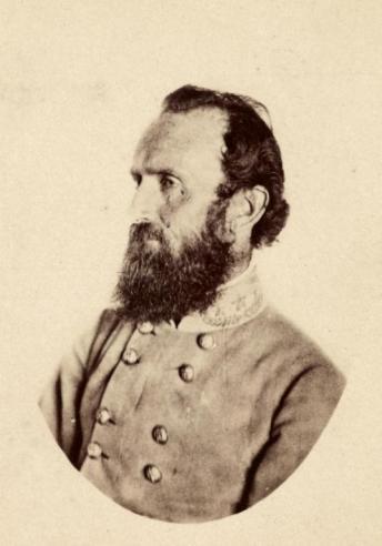 """Thomas Jonathan """"Stonewall"""" Jackson (1824-1863)"""