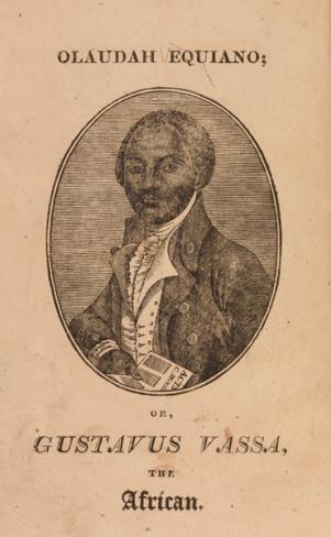Title page of Olaudah Equiano