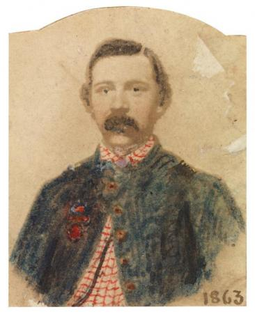 Sneden portrait