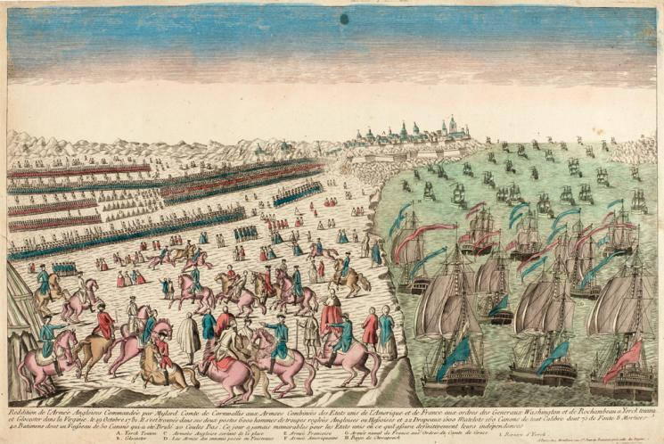 Surrender of the English Army at Yorktown