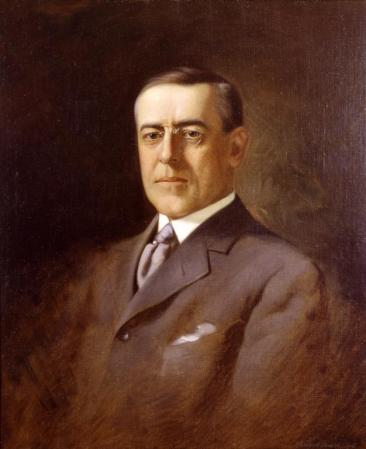 Woodrow Wilson (VHS accession number: 2000.237)