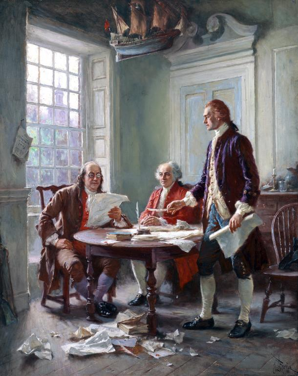 The declaration of independence essay
