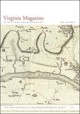 Virginia Magazine of History and Biography, vol. 125, no. 4
