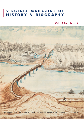 Virginia Magazine of History and Biography, vol. 126, no. 4