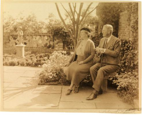 The Weddells in the Four Seasons Garden