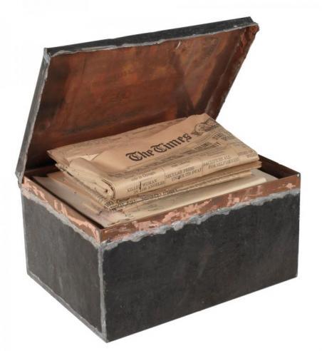 1912 Cornerstone box from Battle Abbey