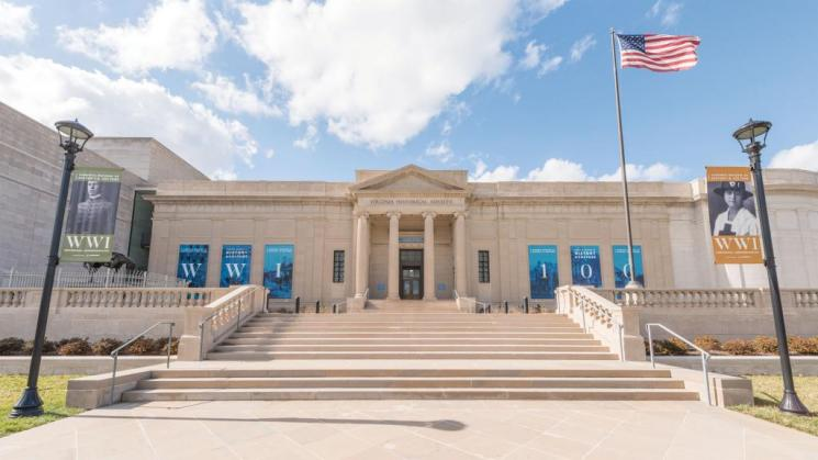 Photograph of the exterior of the Virginia Museum of History & Culture