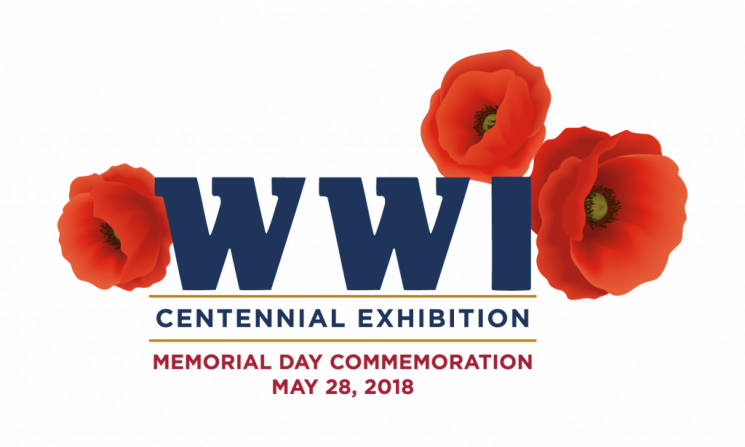 WWI Memorial Day Commemoration Logo