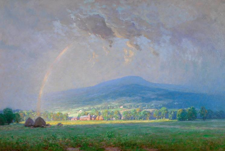 The Passing Storm, Shenandoah Valley by Alexis Fournier