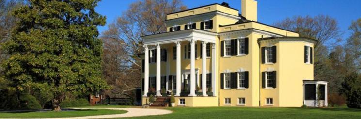 Photograph of Oatlands Historic House, Leesburg, Virginia.