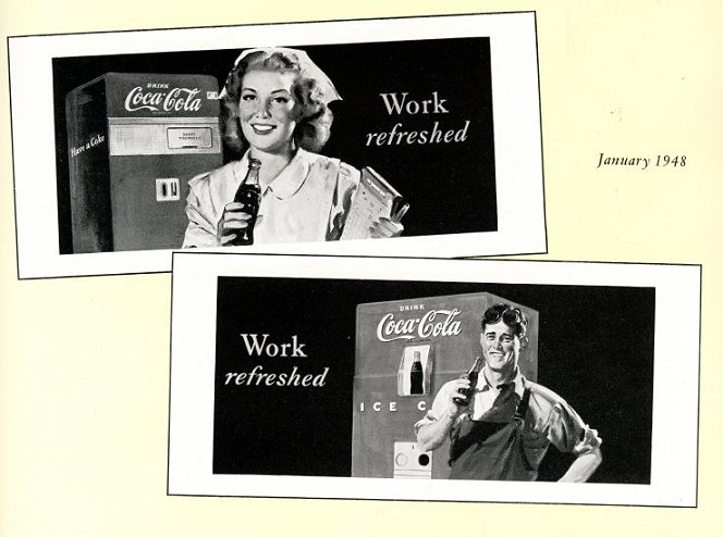 Advertising Posters for the workplace, 1947