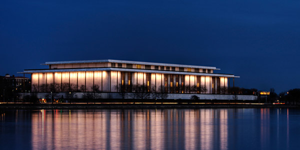 Photo of the John R. Kennedy Center for the Performing Arts