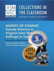 VMHC Collections in the Classroom: Agents of Change