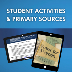 Student Activities and Primary Sources