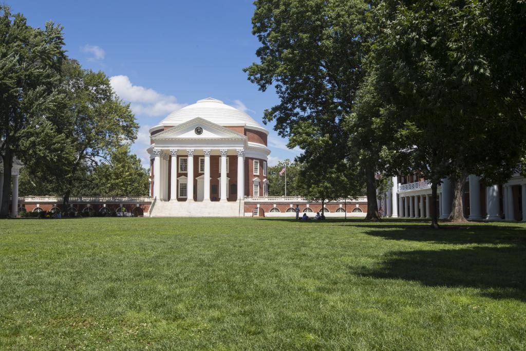 The Rotunda. Courtesy of the University of Virginia.