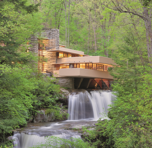 Fallingwater. Photo by Christopher Little. Courtesy of the Western Pennsylvania Conservancy.