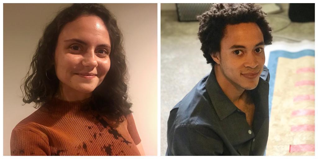 Mariana Parisca and Sandy Williams IV