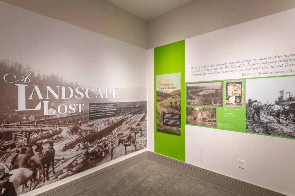 A Landscape Saved exhibition