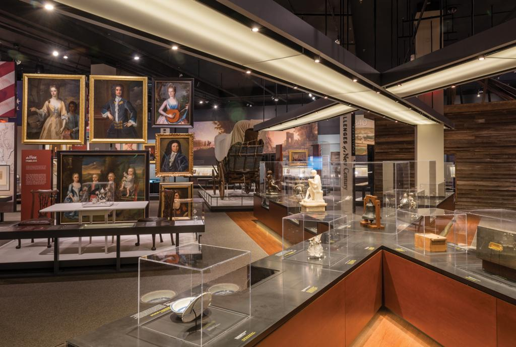 The Story of Virginia exhibition