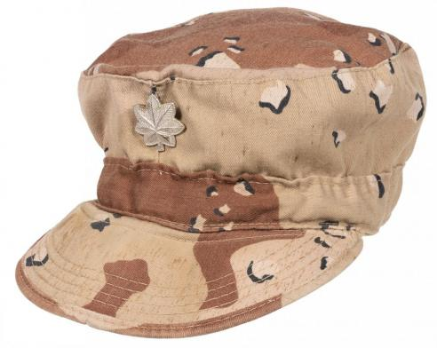 Image of cap worn by Christopher Werle in Kuwait (VMHC 2019:29)